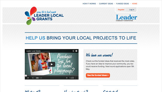 Leader Local Grants