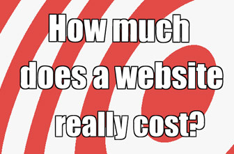 how much is a website design cost