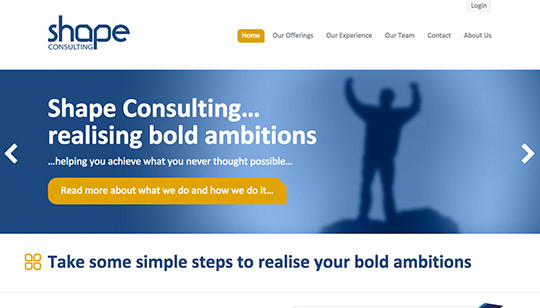 Shape Consulting Wordpress Thumbnail