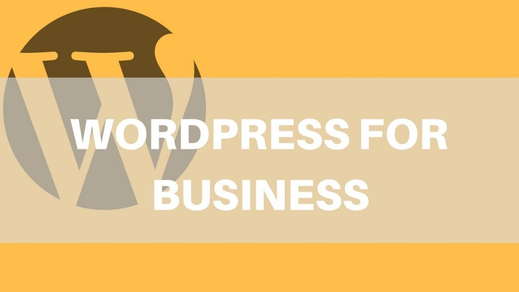 Using WordPress for Business